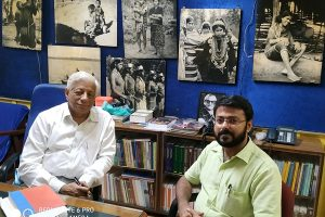 With Dr. Srivastava, Director, anthropological Survey of India, Kolkata