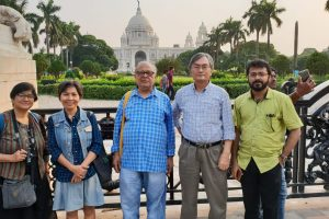 With Prof S.Kim, Seoul National University,South Korea, Prof. Rana P.B. Singh, BHU, India & et.al.