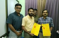 Signing MoU with Vidyasagar University, Midnapore, W.B